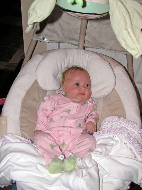 Baby Papasan swing