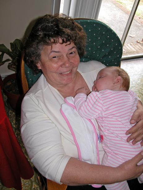 Sleeping on Grandma