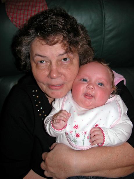 with grandma