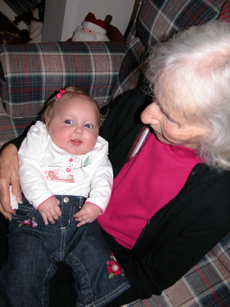 Granny and Emma Kate